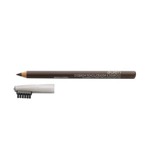 ADEN Eyebrow Pencil with Brush Brown 1,14 gr