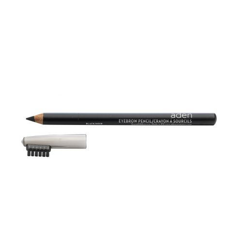 ADEN Eyebrow Pencil with Brush Black 1,14 gr