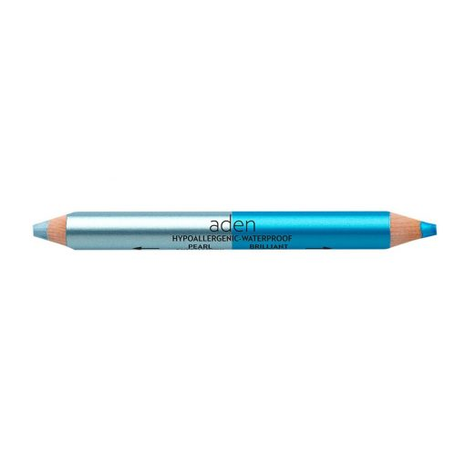 ADEN Dual Ended Eyeshadow Pencil Blue - Mineral 4,11 gr